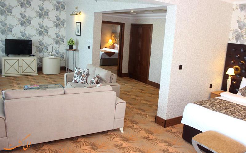 امکانات اتاق های هتل گرند یوروپ باکو