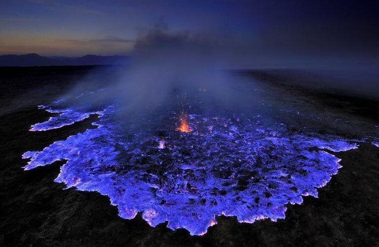 آتشفشان آبی