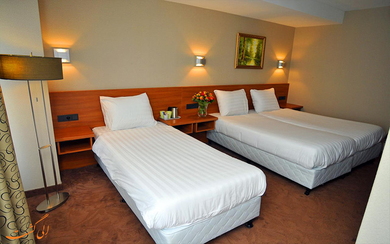هتل سنترال پارک آمستردام Hotel Central Park- اتاق تریپل