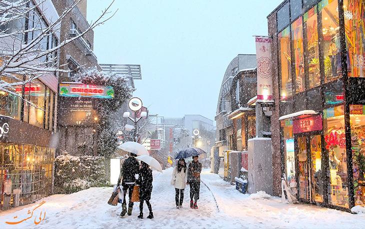 آب و هوای توکیو