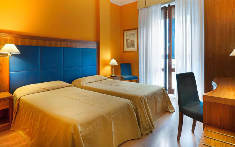 انواع اتاق های هتل برلینو میلان