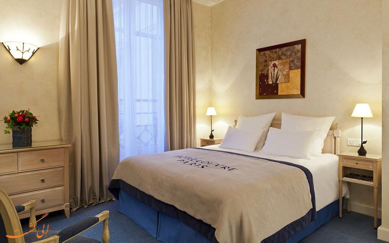 امکانات اتاق های هتل دو لوور پاریس