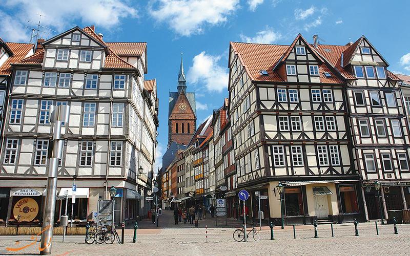 شهر قدیم دوسلدورف