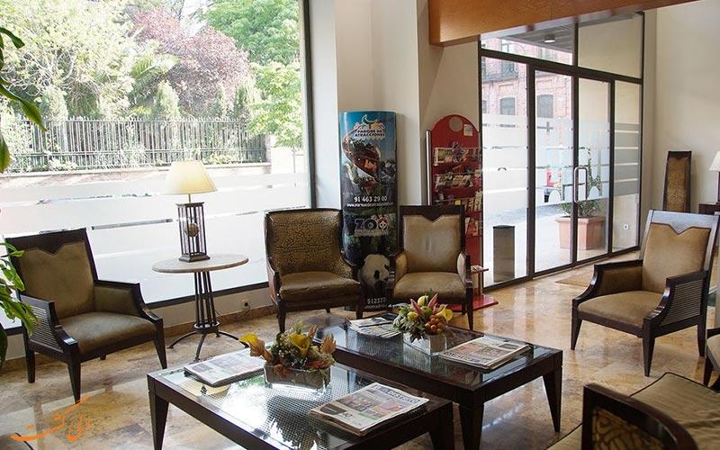 Aparto Suites Muralto- eligasht.com لابی