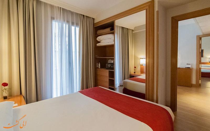 انواع اتاق های هتل آپارتو سوئیتس مورالتو مادرید