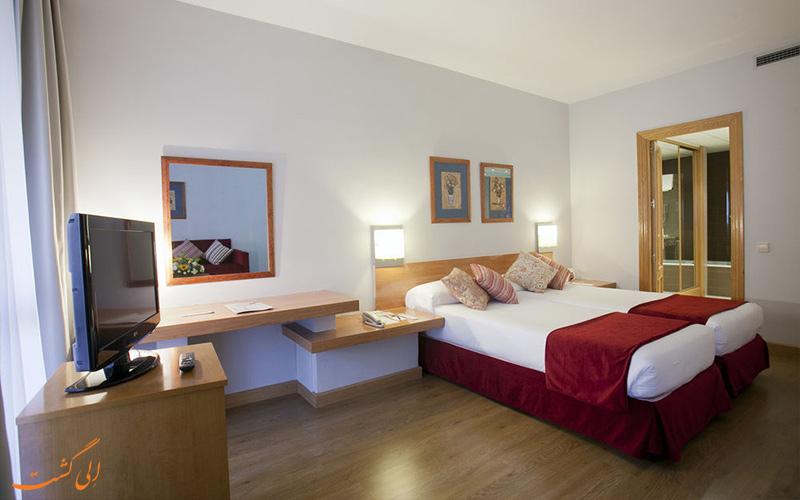 امکانات اتاق های هتل آپارتو سوئیتس مورالتو مادرید