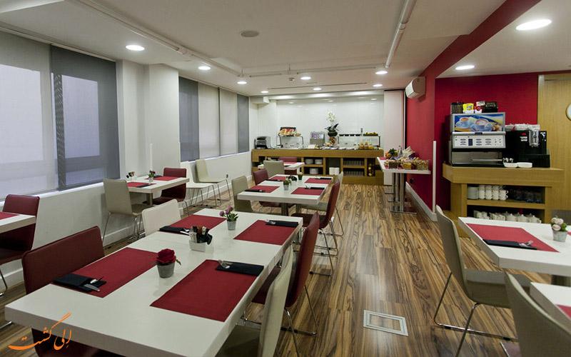 هتل آپارتو سوئیتس مورالتو مادرید- رستوران