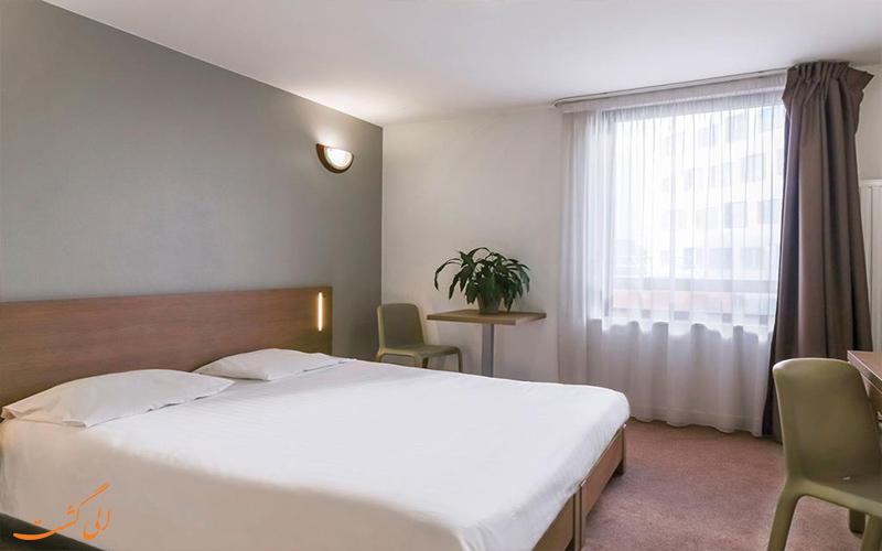 امکانات اتاق های هتل آپارات سیتی بوبینی پاریس
