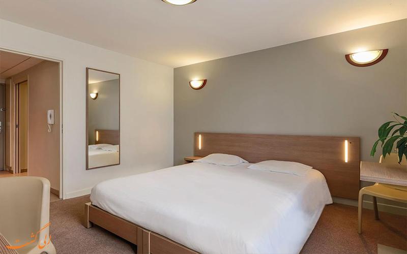 انواع اتاق های هتل آپارات سیتی بوبینی پاریس