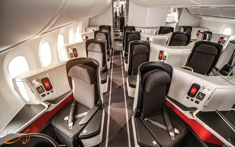 کلاس های پروازی شرکت هواپیمایی آویانکا