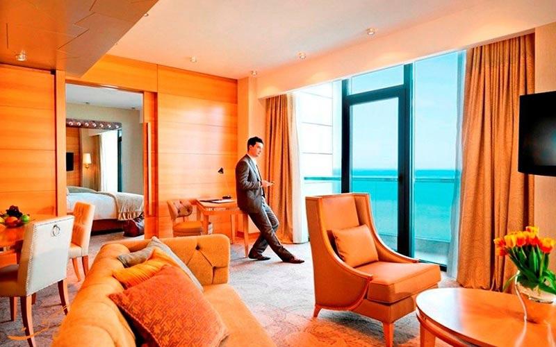 امکانات اتاق های هتل بیلگاه بیچ باکو