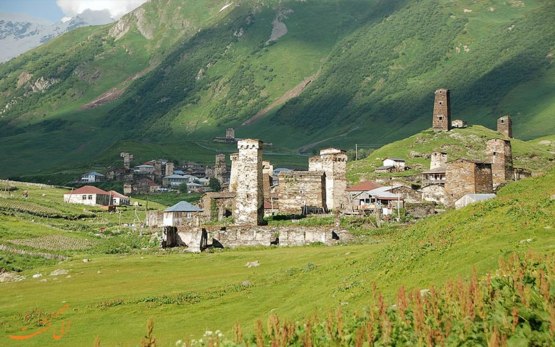 برج های روستای اوشگولی