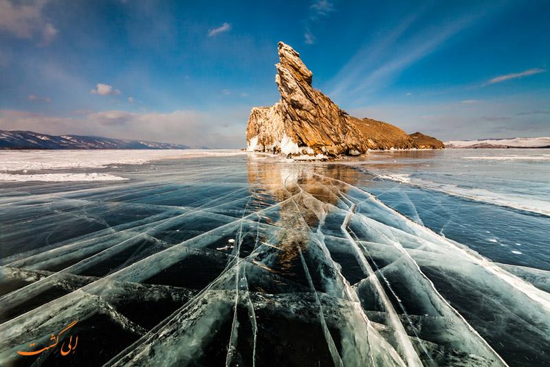 رودخانه بایکال در روسیه