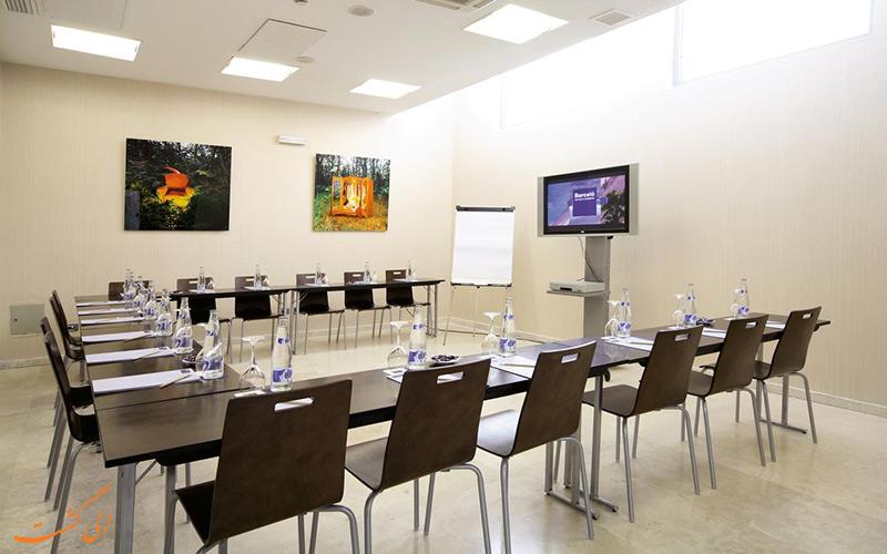 خدمات رفاهی هتل اکسیدنتال مادرید- اتاق ملاقات