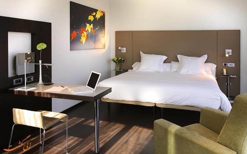 انواع اتاق های هتل اکسیدنتال مادرید