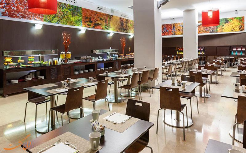 امکانات تفریحی هتل اکسیدنتال مادرید- رستوران