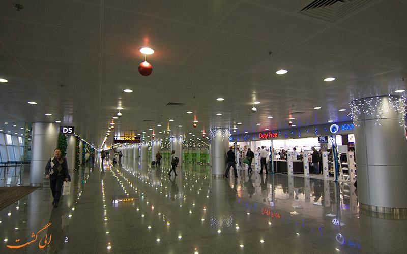 امکانات های فرودگاه بین المللی بوریسپیل