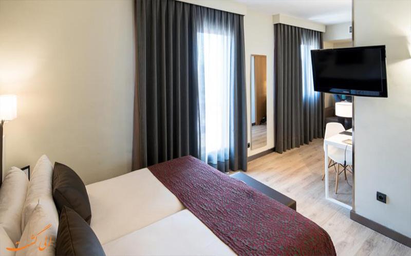 انواع اتاق های هتل کاتالونیا کستلنو بارسلونا