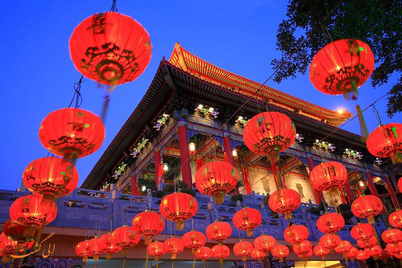 تزیینات بهار چینی ها
