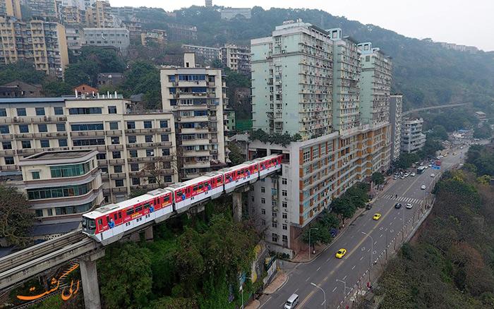 قطار Chongqing Monorail