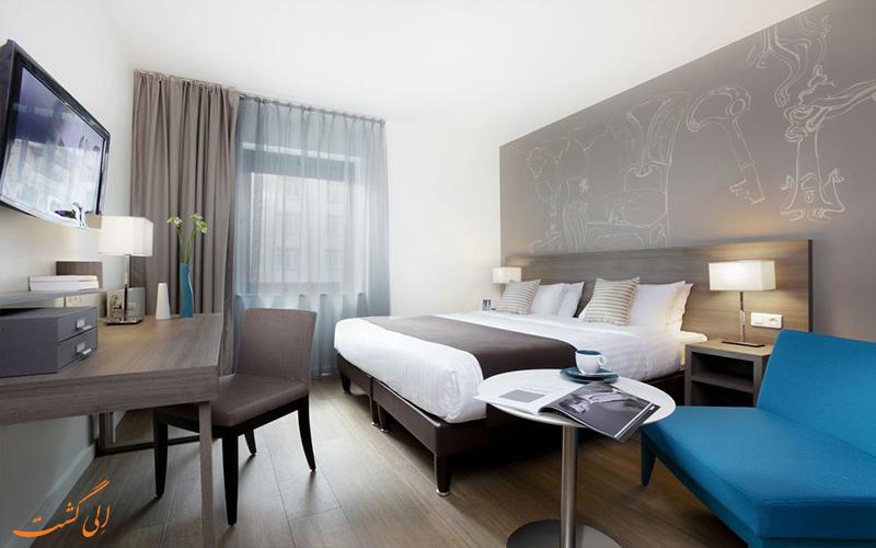 امکانات اتاق های هتل سیتادین تویسن دور بروکسل