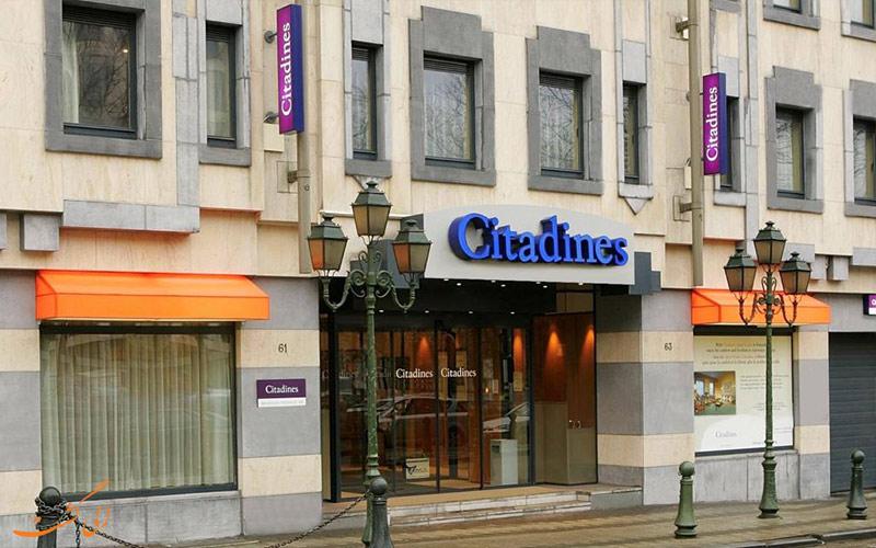 هتل سیتادین تویسن دور بروکسل Citadines Toison d'Or Brussels