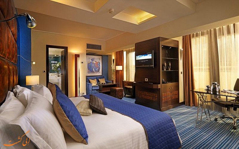 امکانات اتاق های هتل کراون پلازا آتن