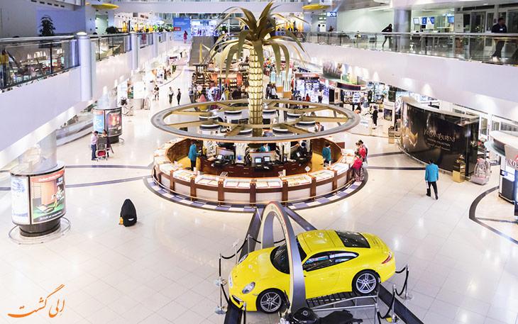 بهترین فرودگاه های دنیا برای خرید لوکس و مجلل