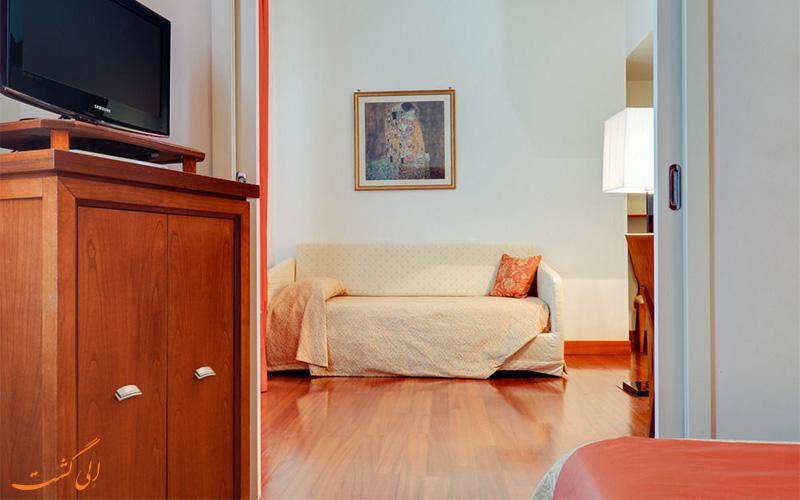 انواع اتاق های هتل دله نازیونی رم