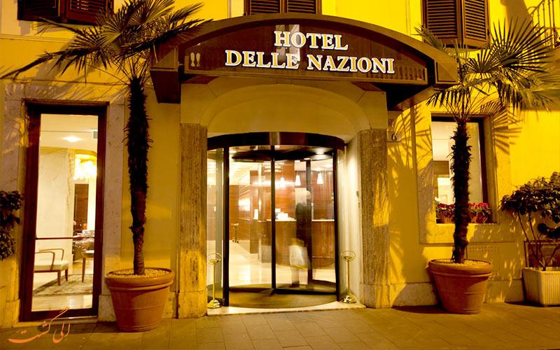 Delle Nazioni- eligasht.com درب ورودی