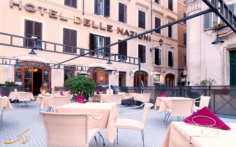 هتل دله نازیونی رم Hotel Delle Nazioni