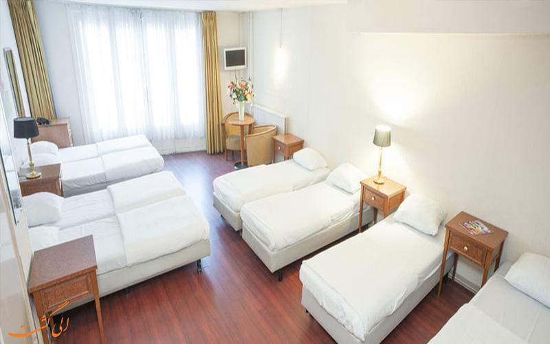 انواع اتاق های هتل دلتا آمستردام