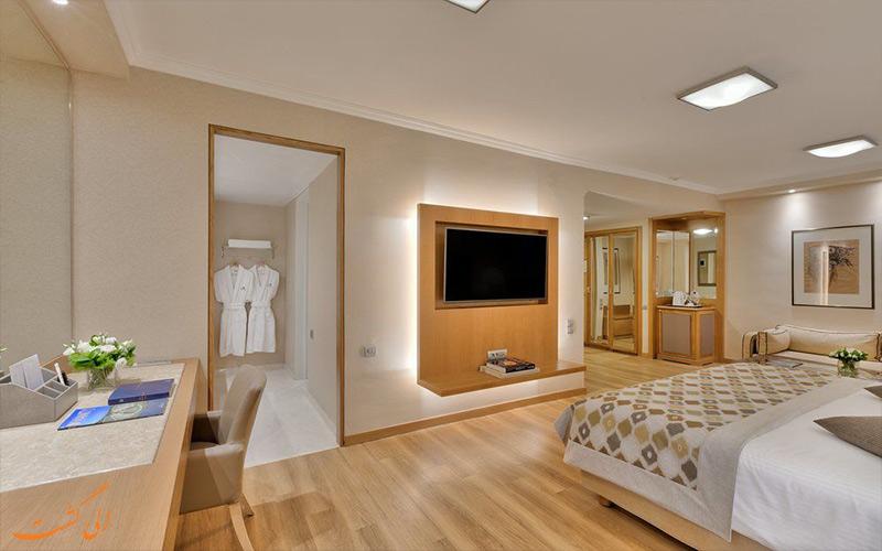 امکانات اتاق های هتل دیوانی کاراول آتن