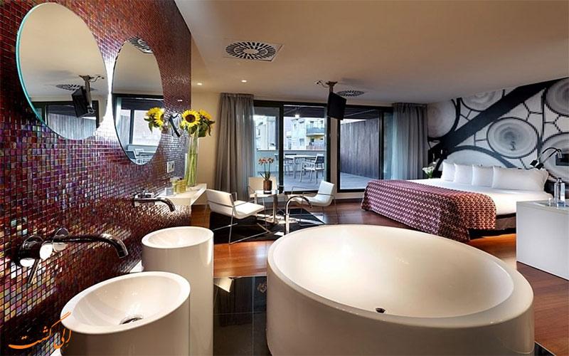 امکانات اتاق های هتل یورو استارز بی سی ان دیزاین بارسلونا