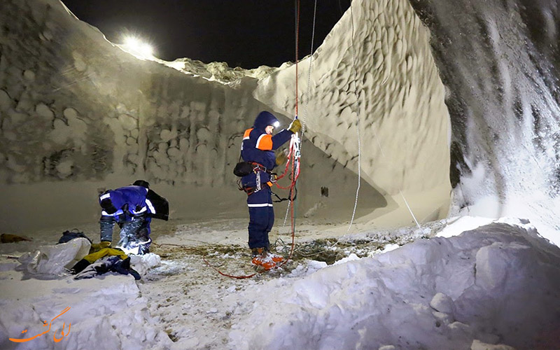 حفره های یخچال