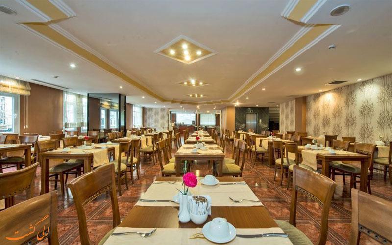 هتل گلدن ایج استانبول - رستوران