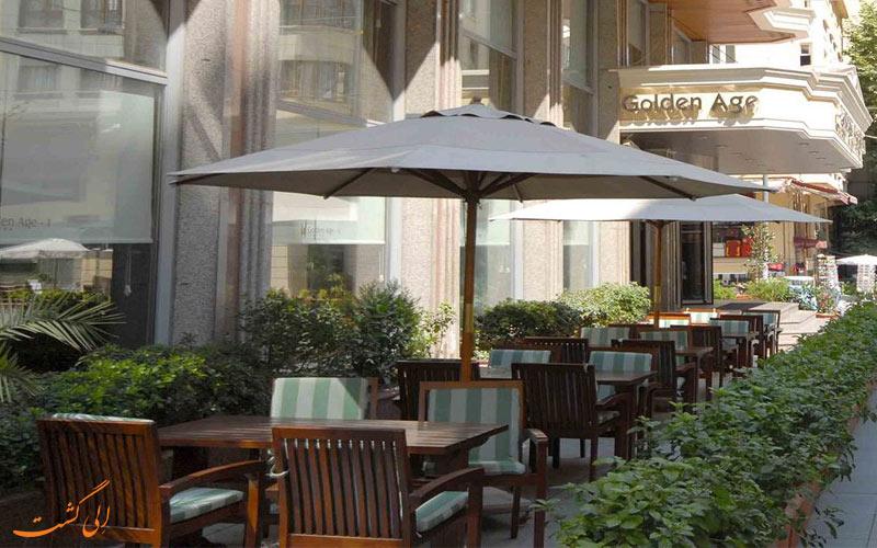 هتل گلدن ایج استانبول - تراس رستوران
