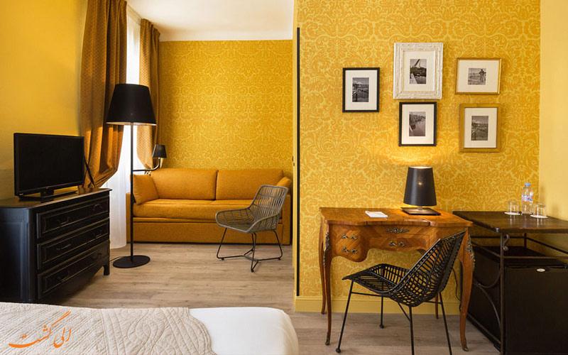 امکانات اتاق های هتل لو گریمالدی نیس