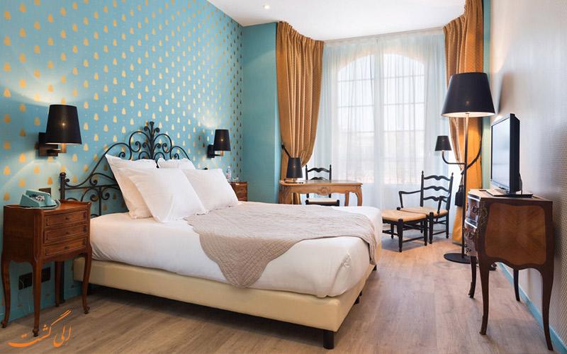 انواع اتاق های هتل لو گریمالدی نیس