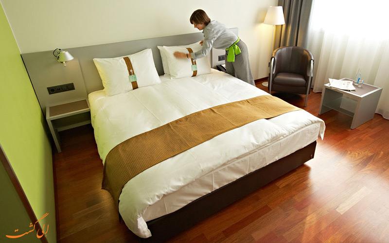 انواع اتاق های هتل هالیدی این زوریخ