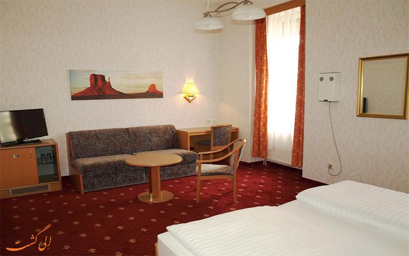 انواع اتاق های هتل ادمیرال وین