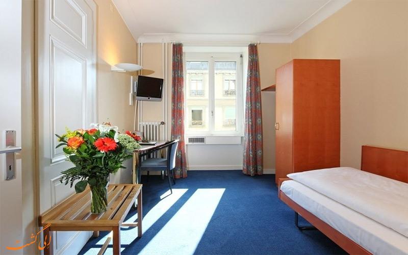 انواع اتاق های هتل برنینا ژنو