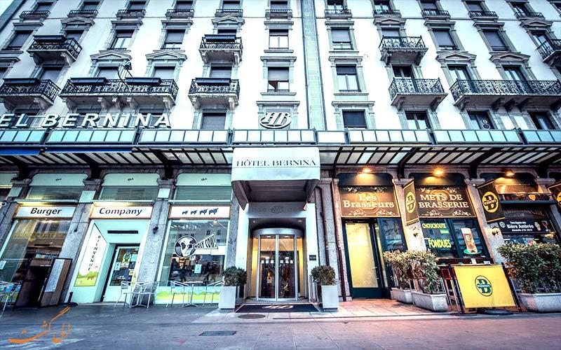Hotel Bernina Geneva- Eligasht.com ورودی هتل