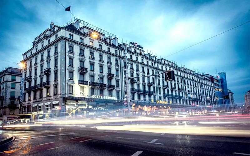 Hotel Bernina Geneva- Eligasht.com ساختمان هتل