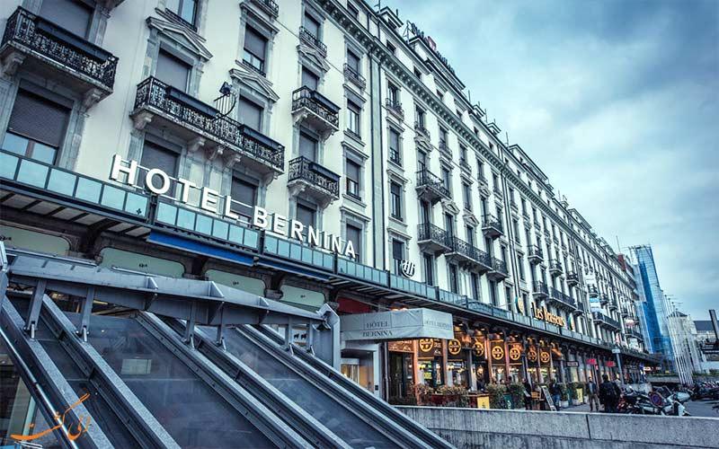 Hotel Bernina Geneva- Eligasht.com محوطه روبروی هتل