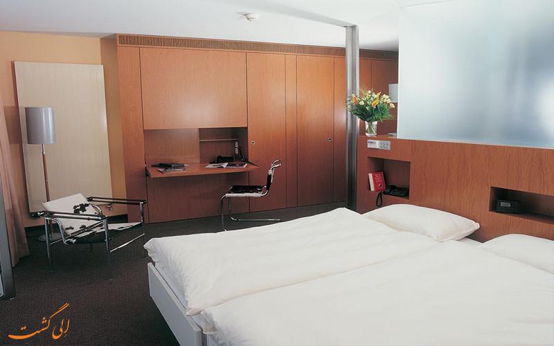 انواع اتاق های هتل کورناوین ژنو
