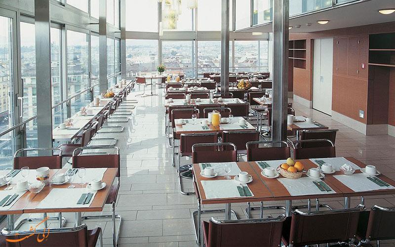 Hotel Cornavin Geneve- eligasht.com سالن صبحانه
