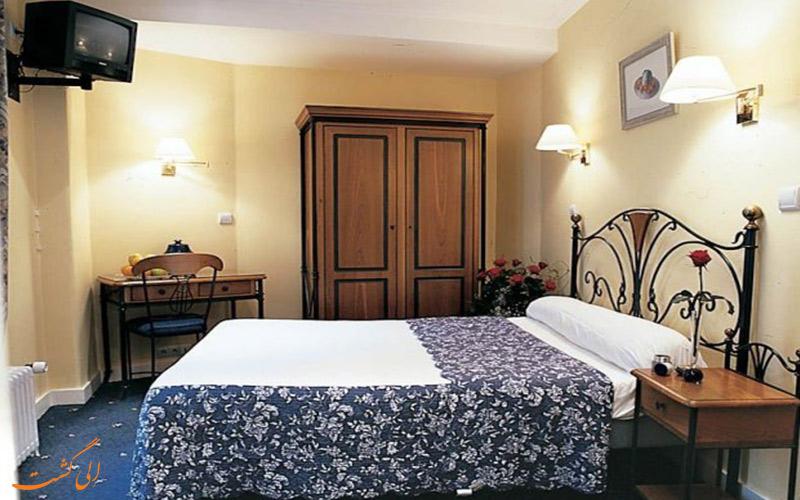 انواع اتاق های هتل لندن پاریس