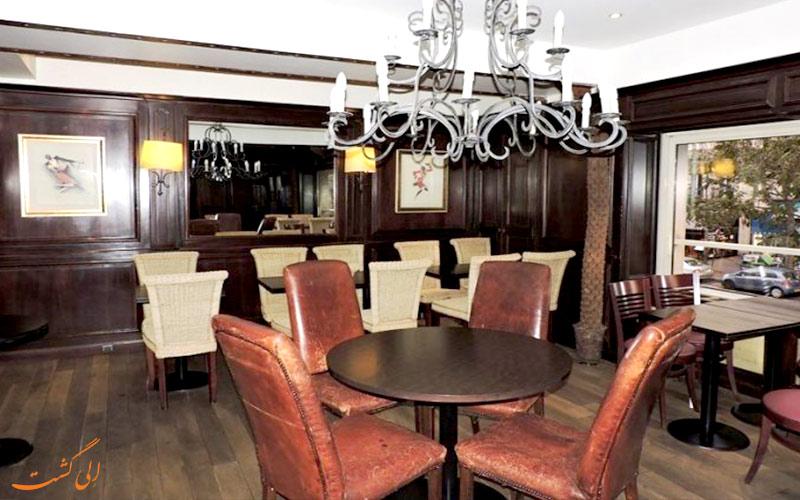 هتل لندن پاریس- کافه هتل