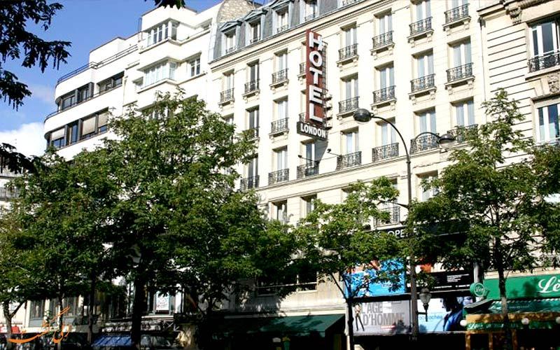 خدمات رفاهی هتل لندن پاریس- نمای هتل